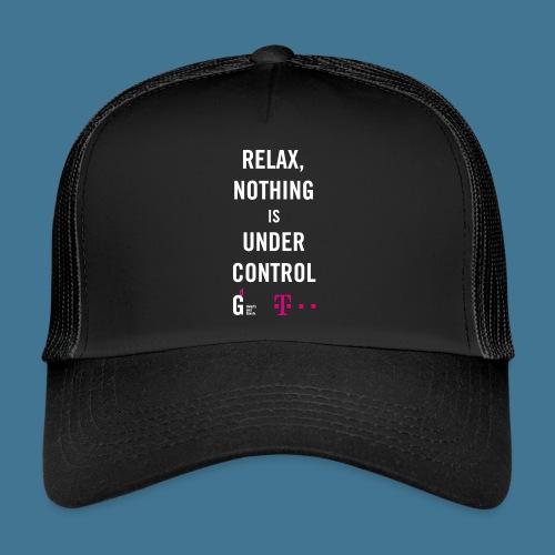Relax weiss telekom - Trucker Cap