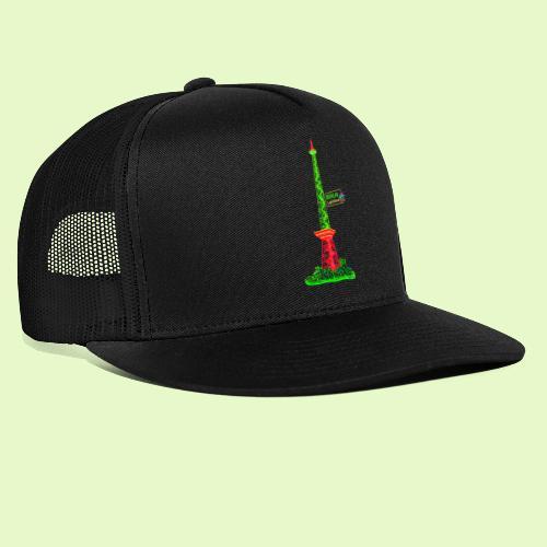 Funkturm / BerlinLightShow / PopArt Style - Trucker Cap