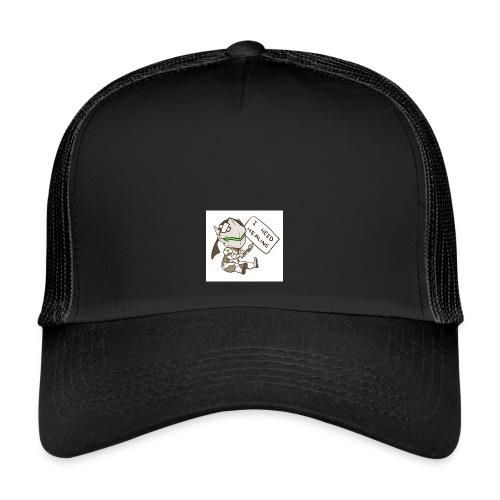 Genji I NEED HEALING - Trucker Cap