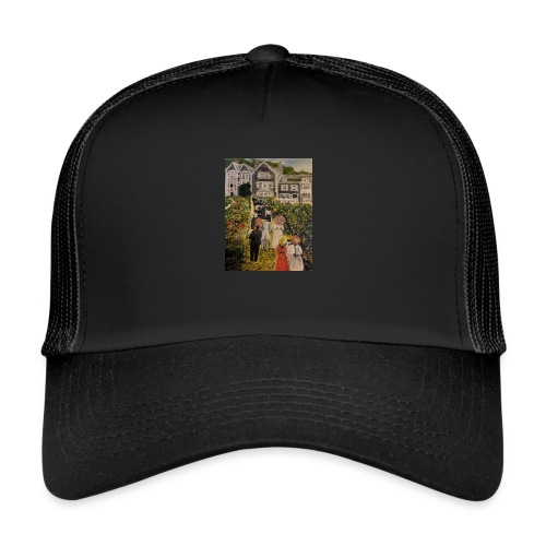 Scottish hotel in the early 19200's - Trucker Cap