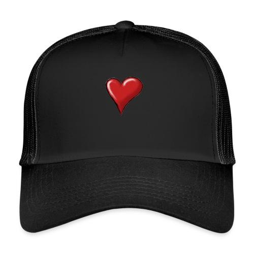 Love (coeur) - Trucker Cap
