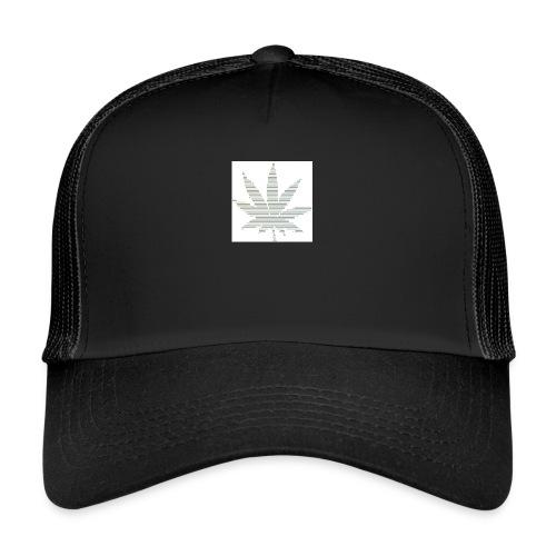 Marijuana Leaf - Trucker Cap