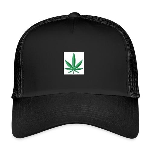 marijuana leaf 23 2147502 - Trucker Cap