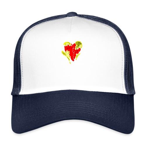 peeled heart (I saw) - Trucker Cap