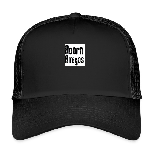 acorn amigos badge - Trucker Cap