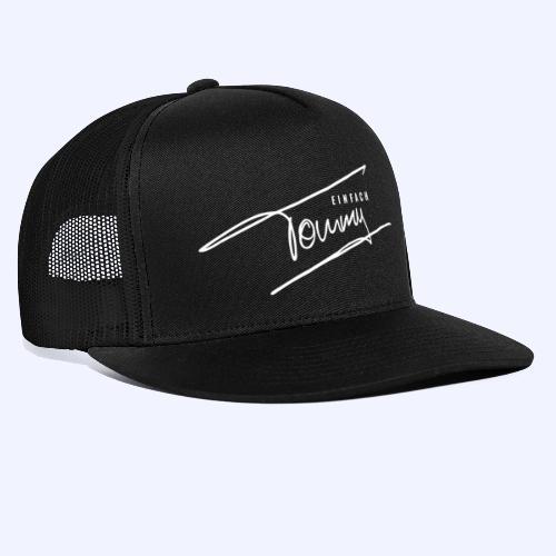 Einfach Tommy / White Font - Trucker Cap