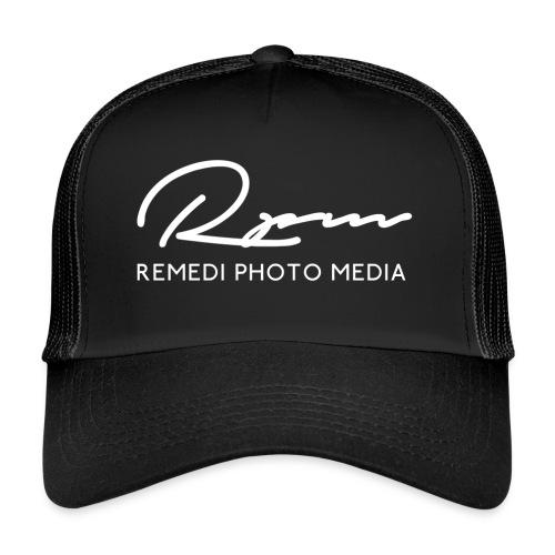 RPM 2018 script with text - White - Trucker Cap
