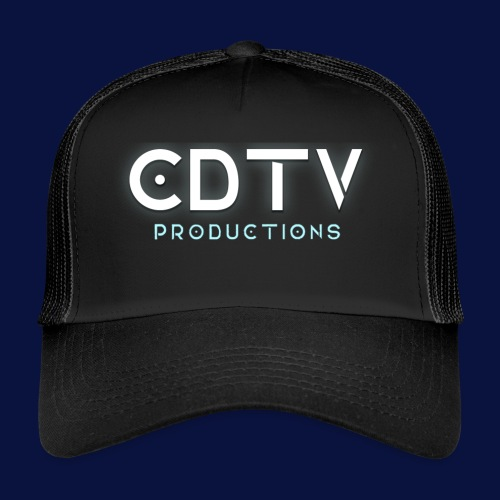 Full CDTVProductions Logo - Trucker Cap