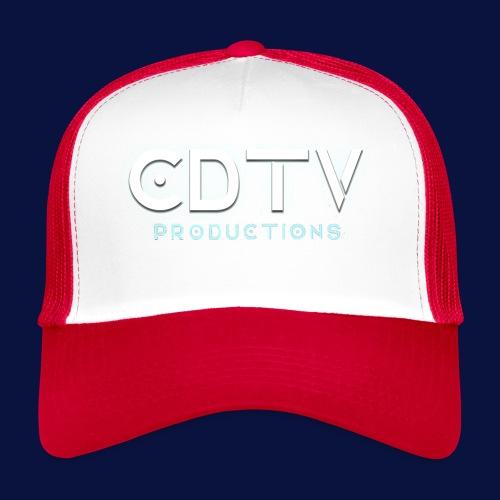 Full CDTVProductions Logo - Trucker Cap