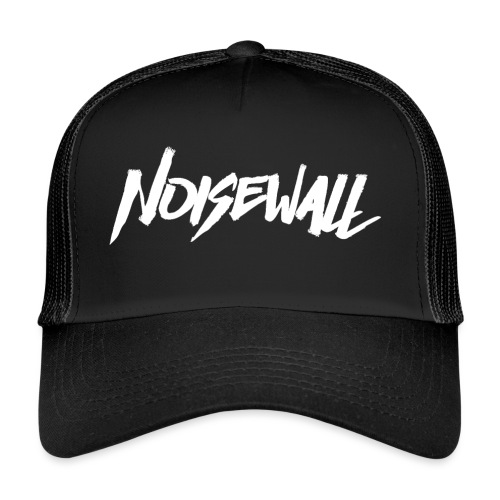 NOISEWALL WHITE LOGO - Trucker Cap