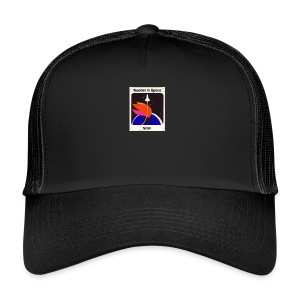 space rocket - Trucker Cap