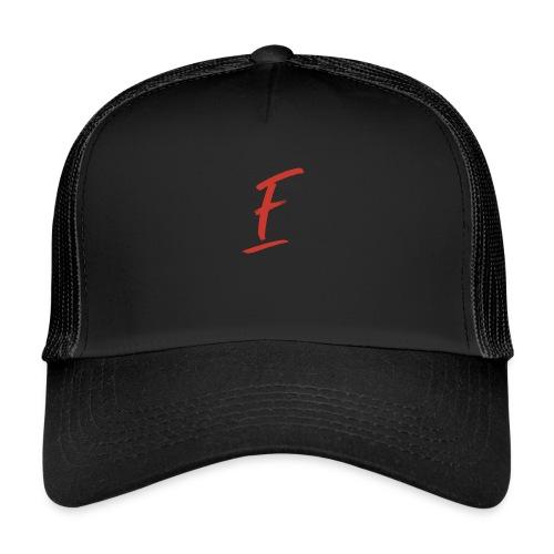 Radio Fugue F Rouge - Trucker Cap