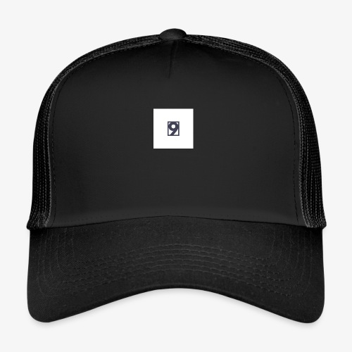 9 Clothing T SHIRT Logo - Trucker Cap