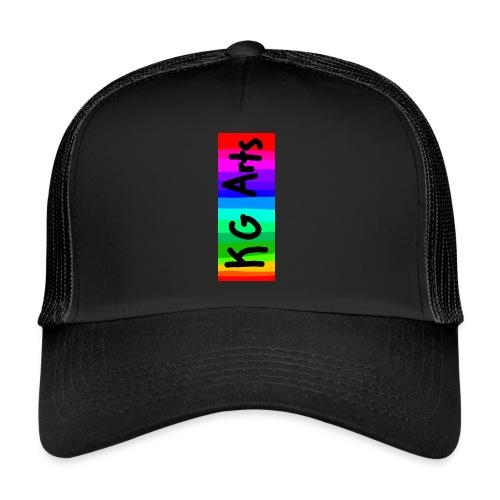 KG Arts Rainbow Banner - Trucker Cap