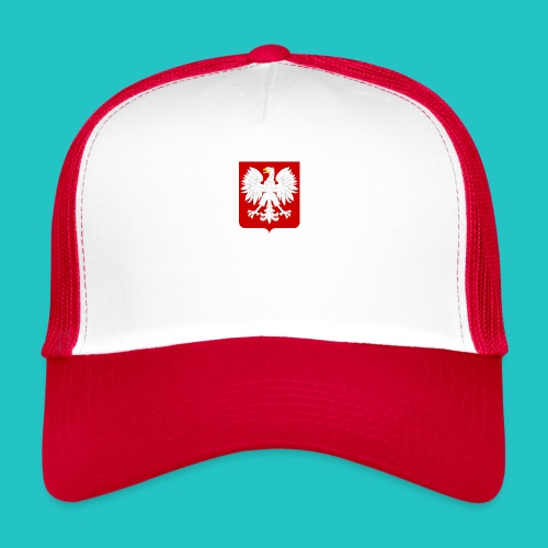 Koszulka z godłem Polski - Trucker Cap