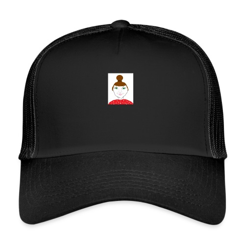 Bonny with a bun - Trucker Cap