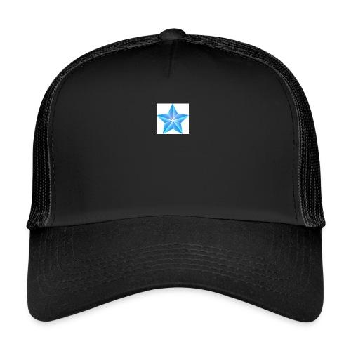 blue themed christmas star 0515 1012 0322 4634 SMU - Trucker Cap