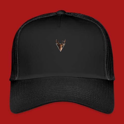Deer-Head GOLD - Trucker Cap