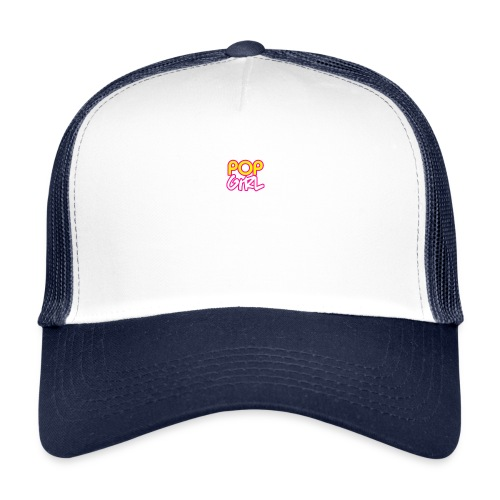 Pop Girl logo - Trucker Cap