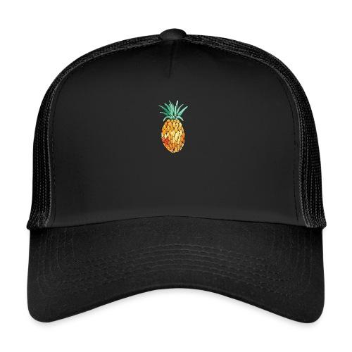 pinety logo print - Trucker Cap