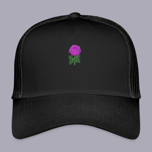 Landryn Design - Pink rose - Trucker Cap
