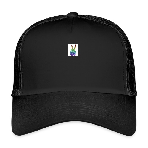 peace fingers - Trucker Cap