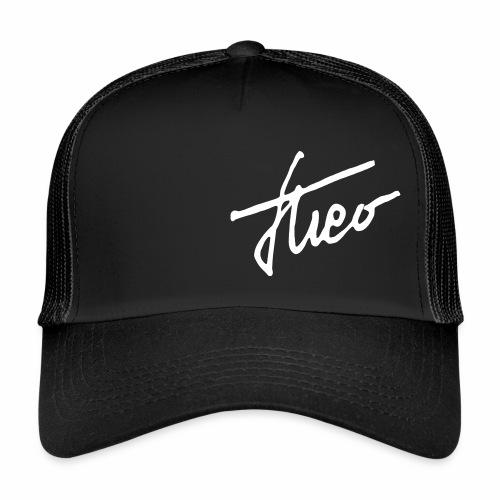 theo_single_weiss - Trucker Cap