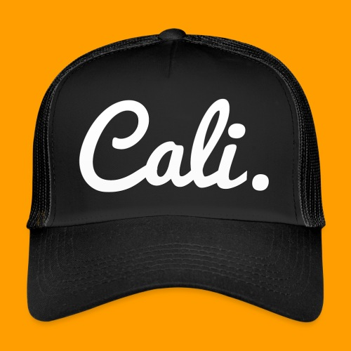 Cali s Logo Weiss - Trucker Cap