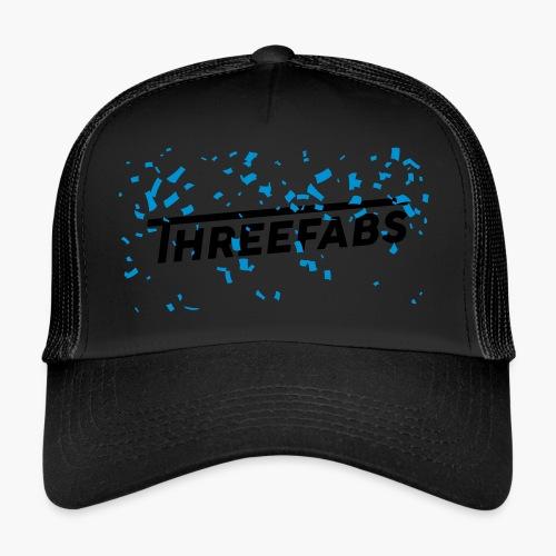 DJ ThreeFabs Blau Cap - Trucker Cap
