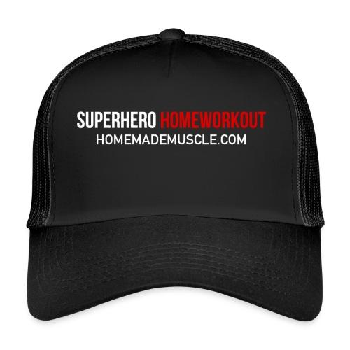 SUPERHERO HOMEWORKOUT - Premium t-shirt for Men - Trucker Cap