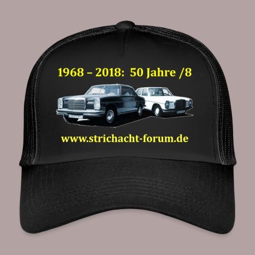 50jahre /8 strichacht-forum.de in gelb - Trucker Cap