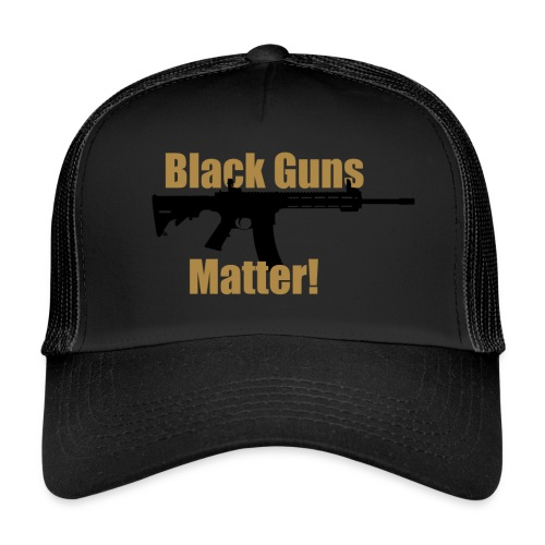 BLACK GUNS MATTER - Trucker Cap