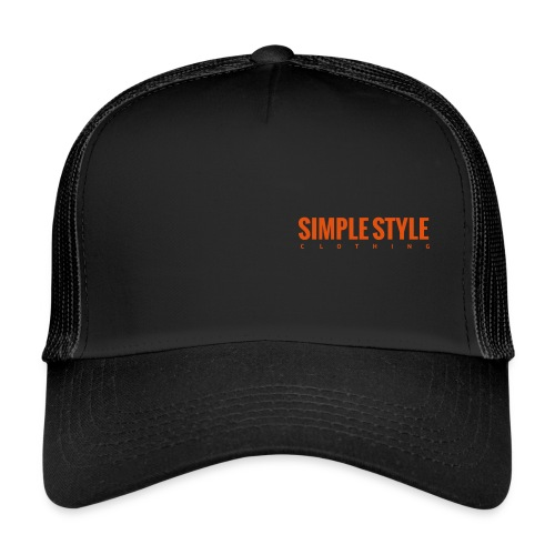 Simple Style Clothing Small Logo - Trucker Cap