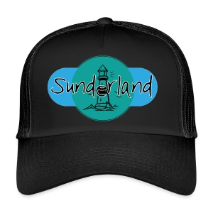 Sunderland Lighthouse Logo! - Trucker Cap
