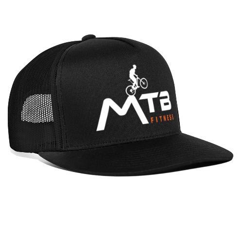 Subtle MTB Fitness - White Logo - Trucker Cap