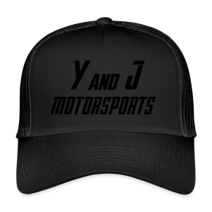 Y and J Motorsports Logo - Trucker Cap