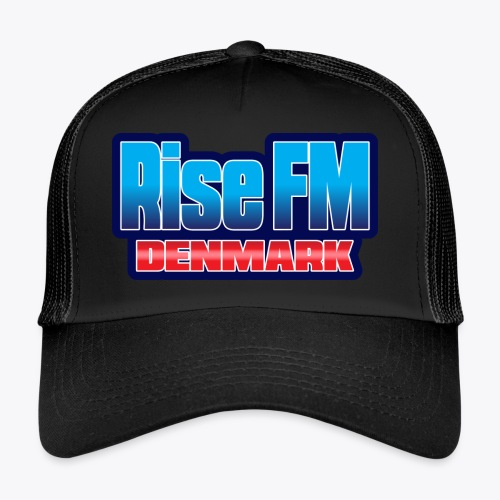 Rise FM Denmark Text Only Logo - Trucker Cap