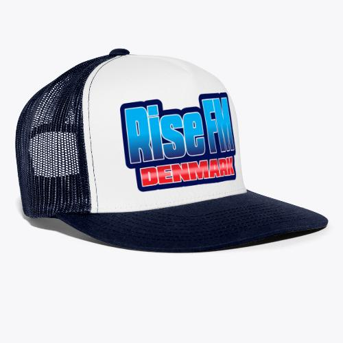 Rise FM Denmark Text Only Logo - Trucker Cap