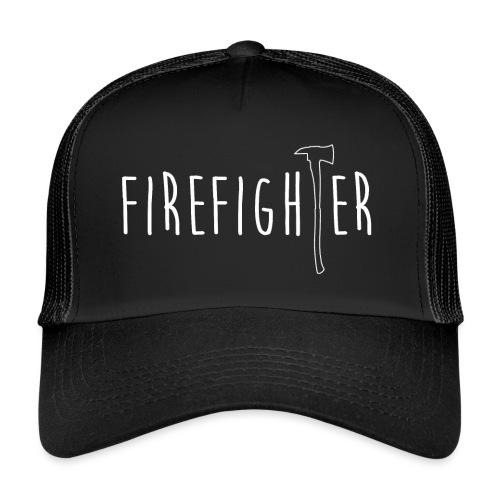 Firefighter Axt - Weiß - Trucker Cap