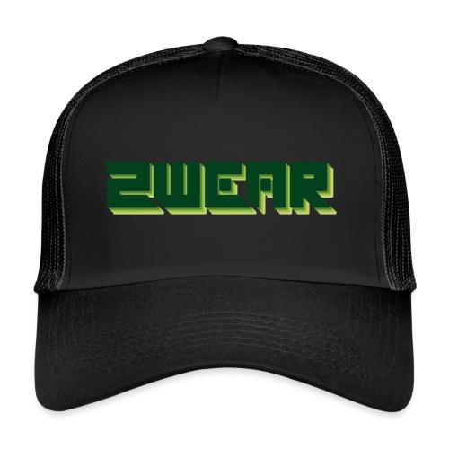2wear box logo - Trucker Cap