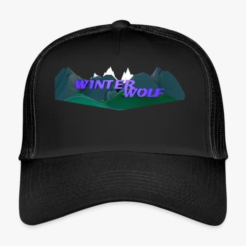 WINTERWOLF Season IV logo - Trucker Cap