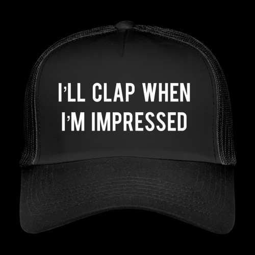 Impressed 1 White - Trucker Cap