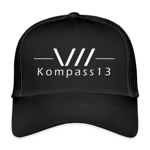 Kompass13 logo - Trucker Cap