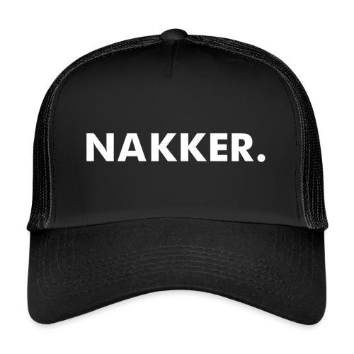 'Nakker' Zwart - Trucker Cap