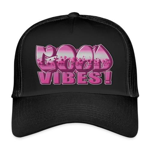 Good Vibes Pink - Trucker Cap