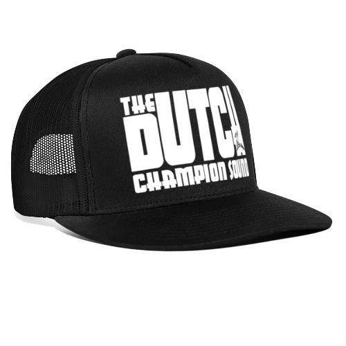 The Dutch Champion Sound WHITE - Trucker Cap