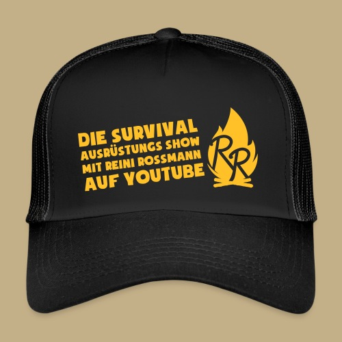 Reini Rossmann Survival Show - Trucker Cap