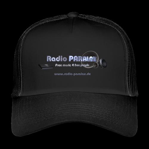 Radio PARALAX Facebook-Logo mit Webadresse - Trucker Cap