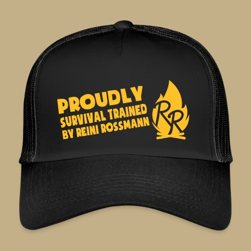 Survival Trained by Reini Rossmann - Trucker Cap