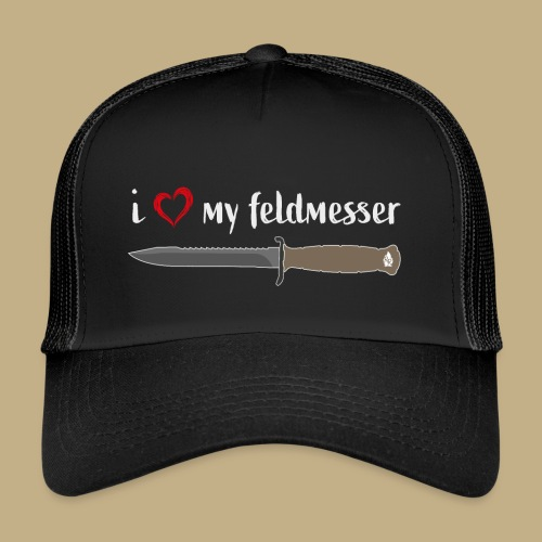 I Love My Feldmesser - Trucker Cap